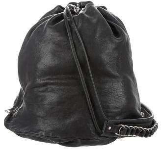 Alexander Wang Leather Drawstring Bag
