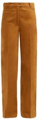 Acne Studios Tiffan wide-leg cotton-blend trousers