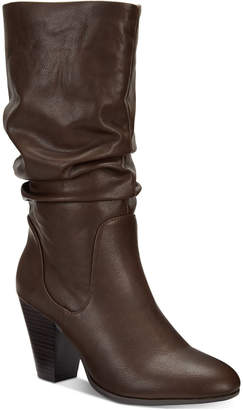 Esprit Oliana Memory-Foam Mid-Shaft Boots, Created for Macy's Women's Shoes