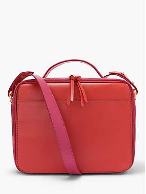 e70ac017a6cd John Lewis   Partners Aida Leather Box Shoulder Bag