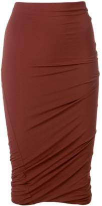 Alexander Wang twisted pencil skirt