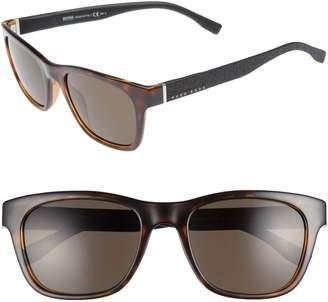 BOSS 53mm Polarized Sunglasses