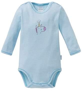 Schiesser Girls' Einhorn Baby Body 1/1 Footies