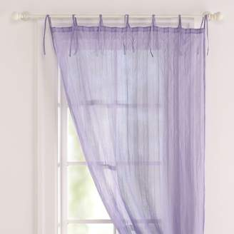 Pottery Barn Teen Twisted Sheer, 40&quotx84&quot, Lavender