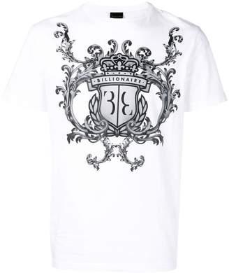 Billionaire Lion logo T-shirt