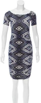 Rachel Pally Printed Knee-Length Dress w/ Tags