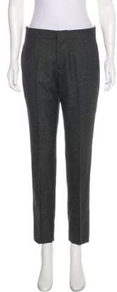 Giambattista Valli Mid-Rise Straight-Leg Pants