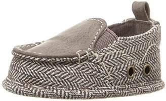 Baby Deer Boys' Tweed Slip Loafer