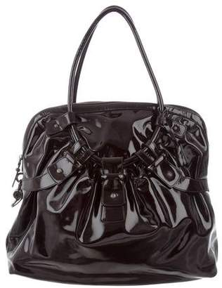 Salvatore Ferragamo Patent Leather Tote