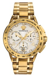 Versace Tech Chronograph Bracelet Watch, 45mm