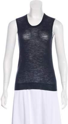 Louis Vuitton Merino Wool Sleeveless Top