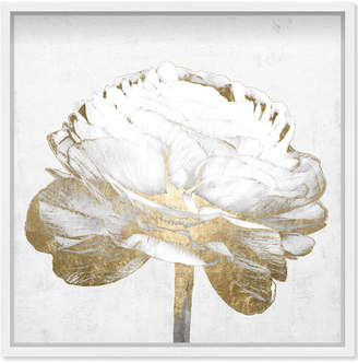 Oliver Gal White Love Peony Gold By The Artist Co.