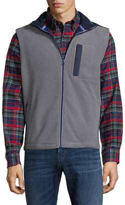 Brooks Brothers Polar Fleece Pocket Vest