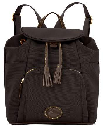 Dooney & Bourke Nylon Backpack - BLACK BLACK - STYLE