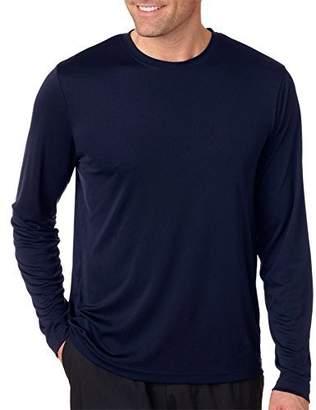 Hanes Adult Cool Dri Long-Sleeve Performance T-Shirt, Sfty Green