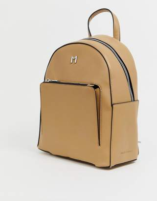 Melie Bianco faux leather back pack