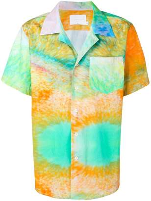 The Silted Company tie-dye print shirt