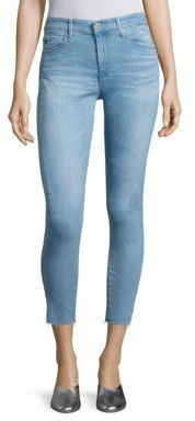 AG Jeans AG Farrah High-Rise Cropped Skinny Jeans