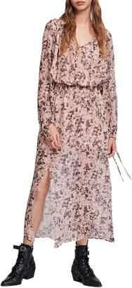AllSaints Chesca Petal Long Dress