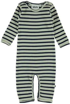 Molo Blue Stripe Playsuit