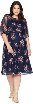 Kiyonna Katarina Mesh Dress Women's Dress