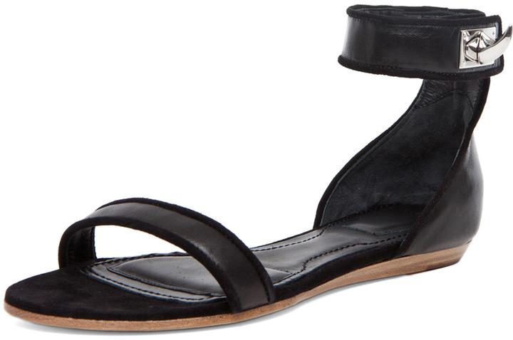 GIVENCHY Virginia Sandal in Black