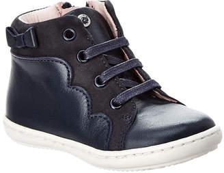 Jacadi Laura Leather High Top Sneaker