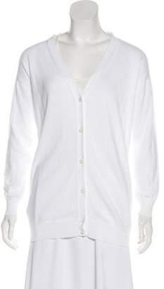 Prada Sport Knit Long Sleeve Cardigan