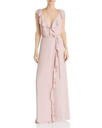 WAYF Elise Wrap Gown