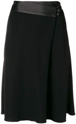 Emporio Armani wrapped waist skirt
