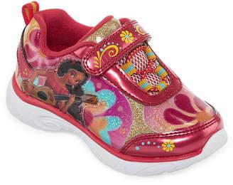 Disney Elena Girls Walking Shoes Slip-on