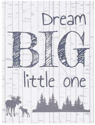 Trend Lab Canvas Wall Art - Dream Big Little One