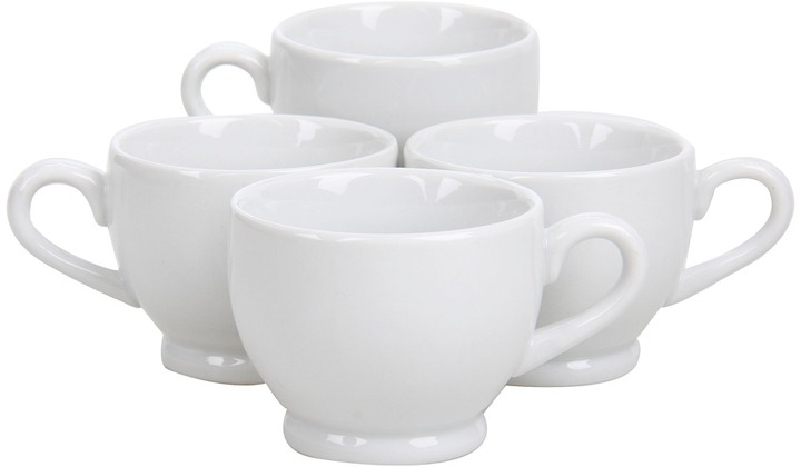 Bia Cordon Blue Cordon Bleu - 3 oz. Footed Demi Cup - Set of 4 (White) - Home