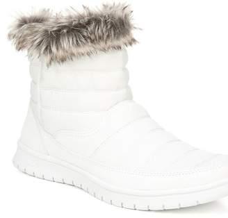 Ryka Suzy Faux Fur Trim Bootie - Wide Width Available