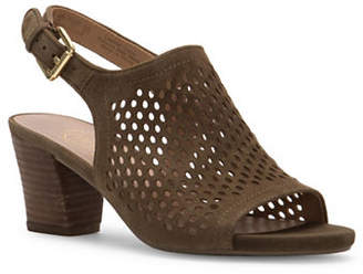 Franco Sarto Monaco 2 Suede Slingback Sandals
