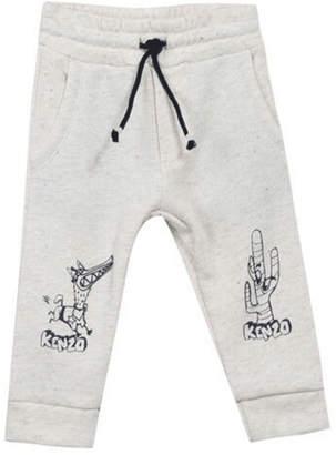 Kenzo 6M-1Y Bernie Dog Pants