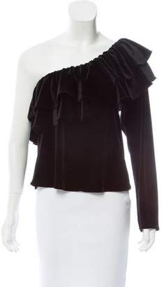 MISA Los Angeles Mielle One Shoulder Top w/ Tags