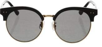 Gentle Monster Moon Cut Tinted Sunglasses