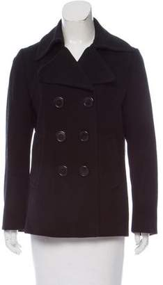 Burberry Double-Breasted Collared Jacket