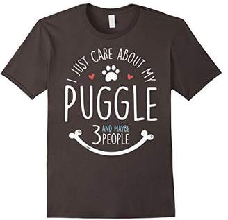 I Just Care About My Puggle T-Shirt