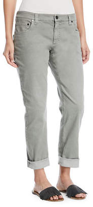 Brunello Cucinelli Straight-Leg Large-Cuff Jeans