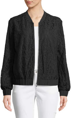 Cynthia Steffe Cece By Lace Bomber Jacket