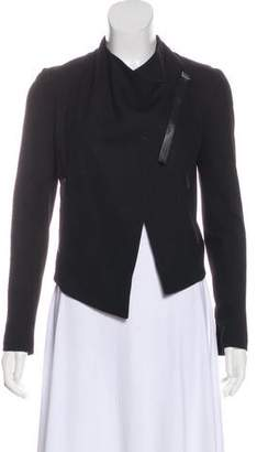 Helmut Lang Asymmetrical Cropped Jacket