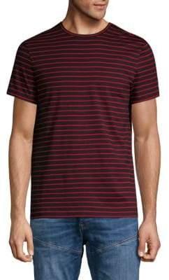 Calvin Klein Striped Short-Sleeve Cotton Tee