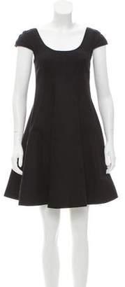 Versace Flared Mini Dress