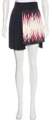 Fausto Puglisi Jersey Mini Skirt