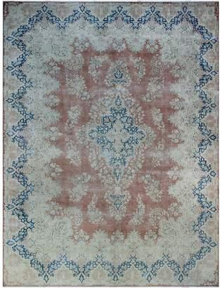 Noori Rug Fine Vintage Distressed Nomusa Hand-Knotted Wool Persian Rug