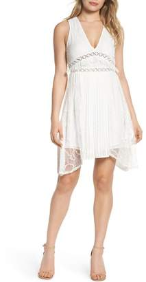 Foxiedox Babette Lace Inset Party Dress