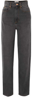 Etoile Isabel Marant Corsy Boyfriend Jeans - Anthracite