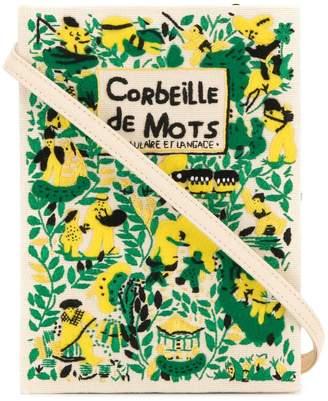 Olympia Le-Tan Corbeille De Mots book clutch